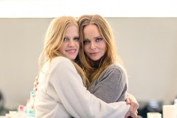 Lara Stone & Stella McCartney. BEHIND THE SCENES WITH MERT & MARCUS FOR STELLA MCCARTNEY