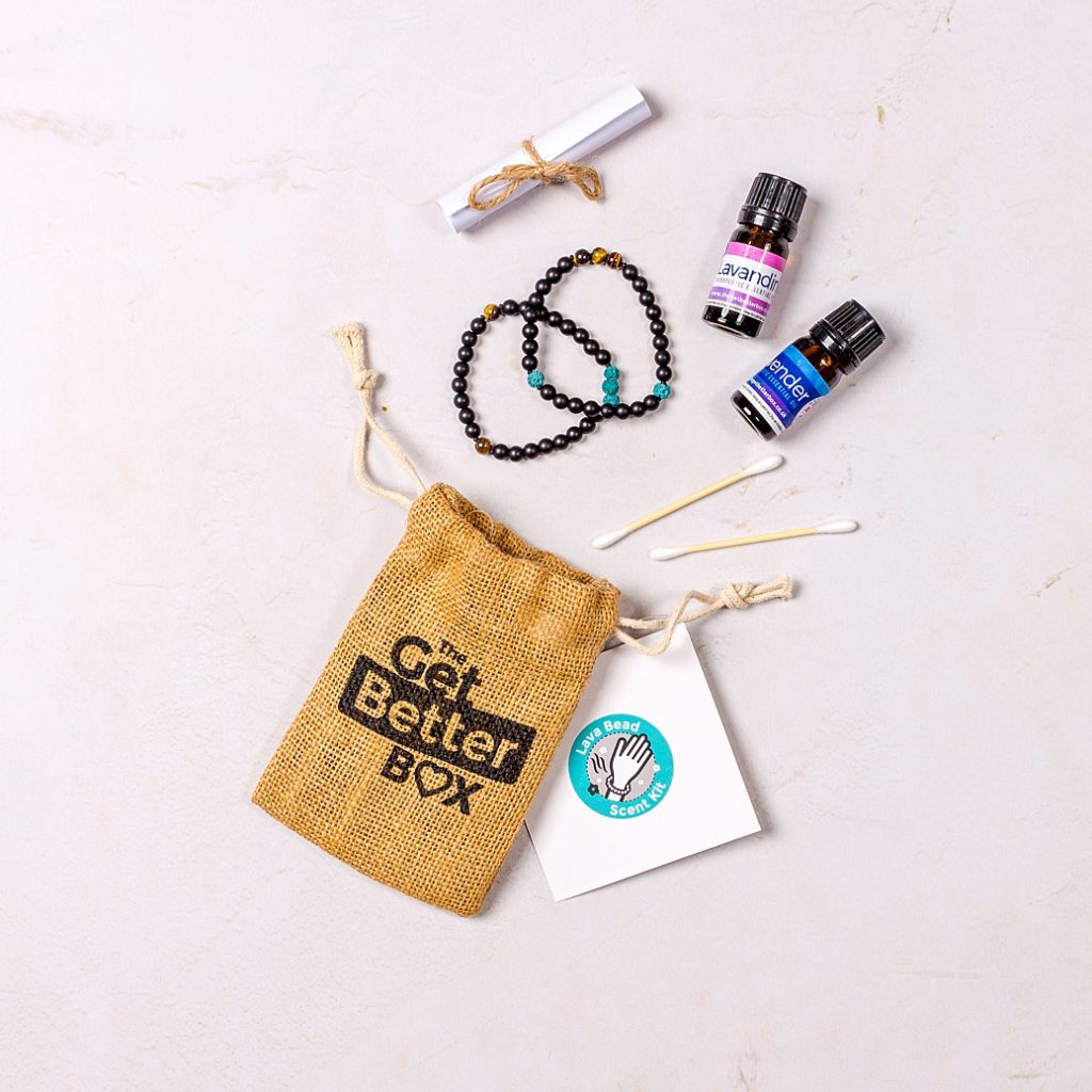 Colourful content creation for The Get Better Box. Product photography & styling by Marianne Taylor.