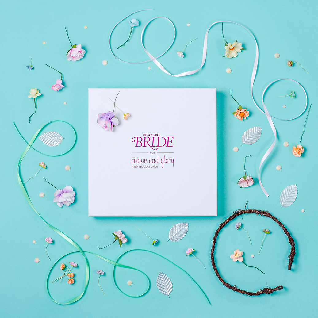 Crown & Glory Hair Accessories Product Photography by Marianne Taylor.