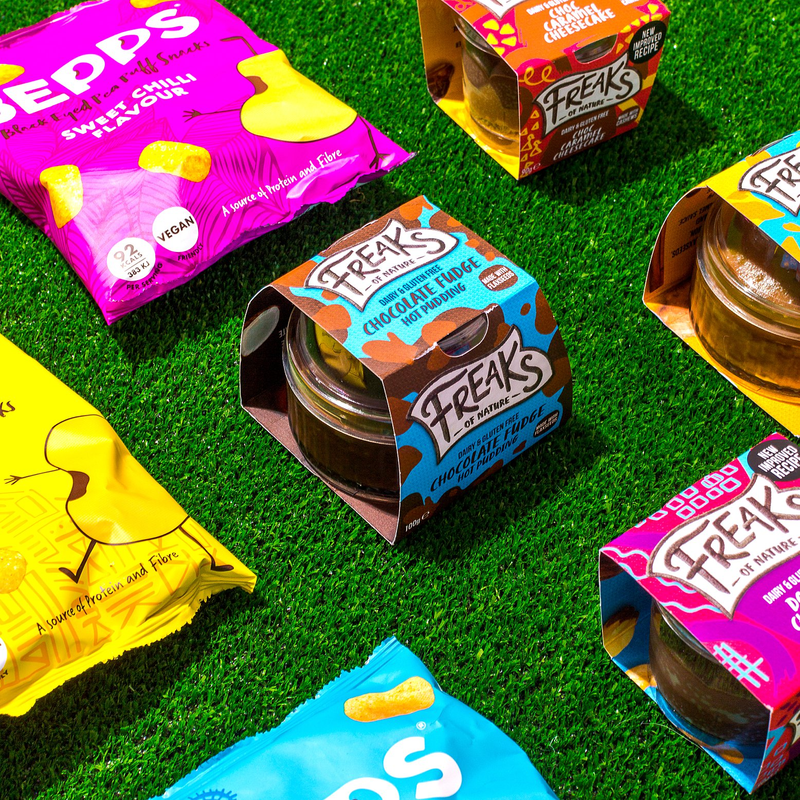 Product photography & content creation for Bepps Snacks. Product photography & styling by Marianne Taylor.