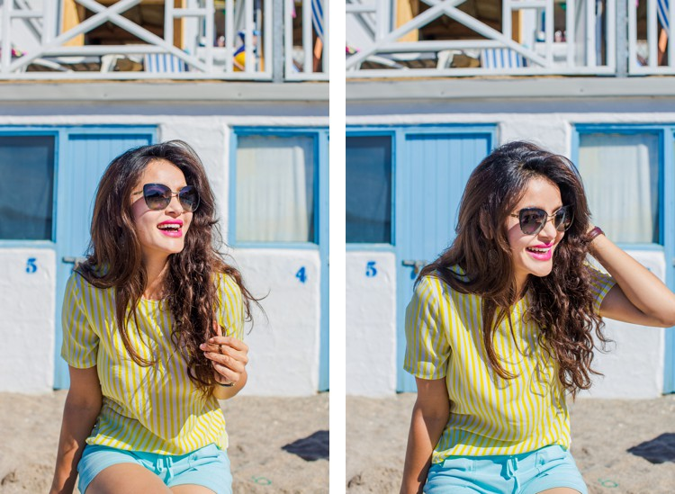 Colourful Cornwall lifestyle photography with Shirsti Shrestha by Marianne Taylor. Click through for more!