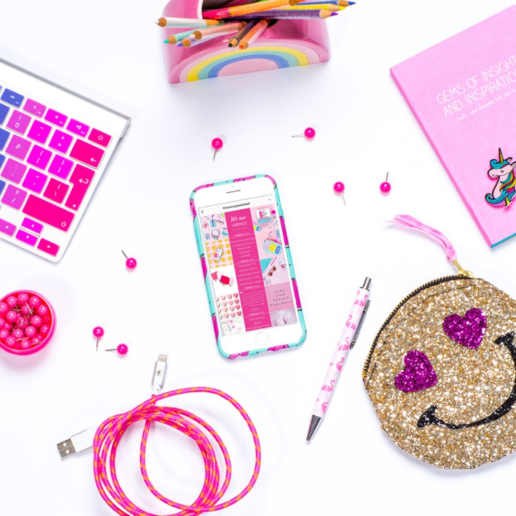 Colourful content creation by Marianne Taylor Photography.
