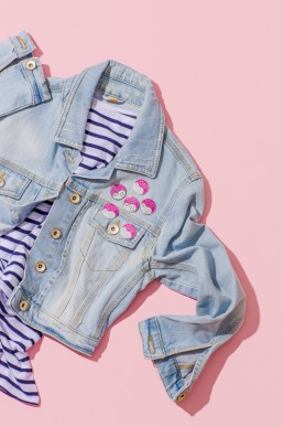 Colourful product and lifestyle photography for Punky Pins by Marianne Taylor.