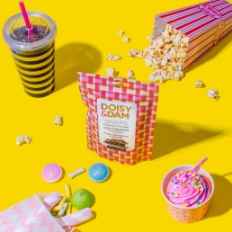 Colourful content for Doisy & Dam. Product photography and styling by Marianne Taylor.