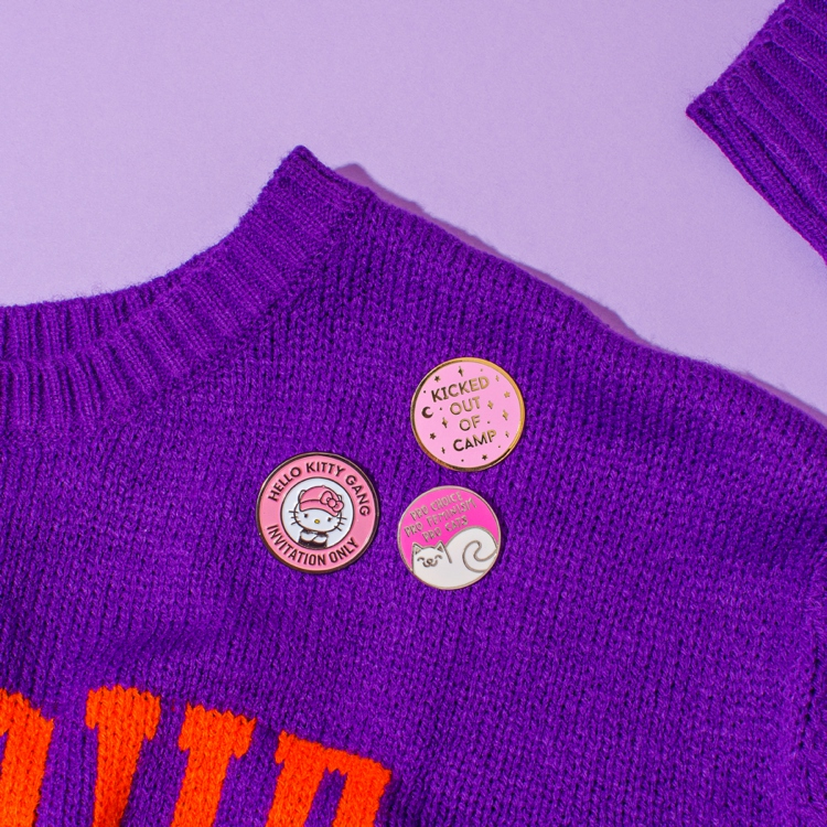 Colourful content creation for Punky Pins. Product photography & styling by Marianne Taylor.
