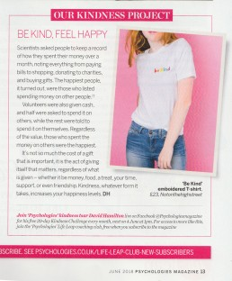Psychologies Magazine Marianne Taylor for Alphabet Bags.