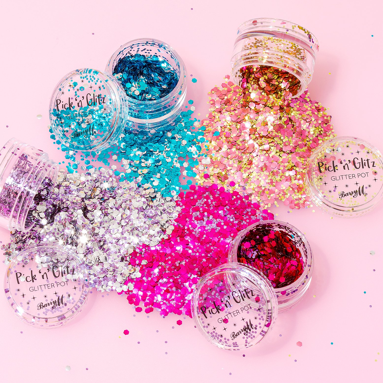 Colourful content creation for Barry M Cosmetics. Product photography & styling by Marianne Taylor.