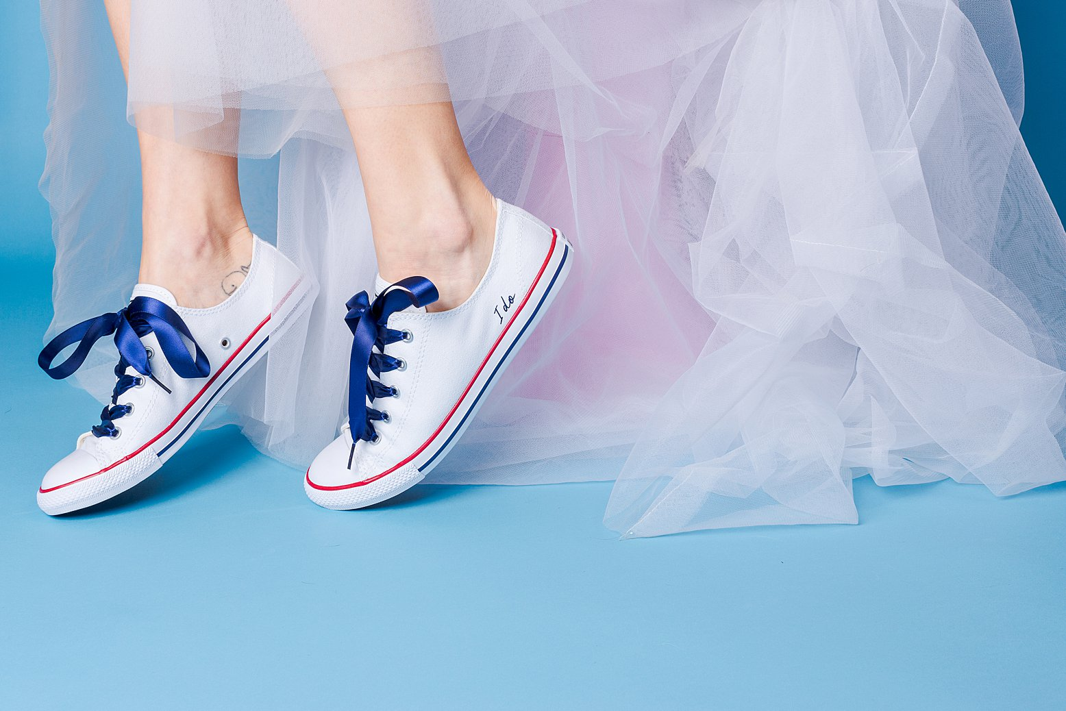 Product and lifestyle photography & content creation for Wedding Converse. Product photography & styling by Marianne Taylor.