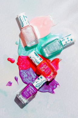Product photography & content creation for Barry M cosmetics. Product photography & styling by Marianne Taylor.