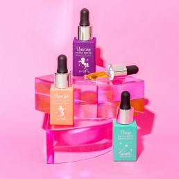 Colourful content creation for Barry M cosmetics. Product photography by Marianne Taylor.