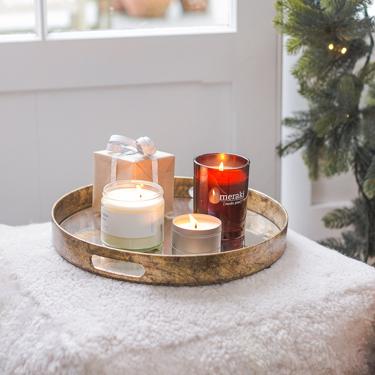 Lifestyle Christmas shoot for Jo&Co. Styled lifestyle editorial photography by Marianne Taylor.