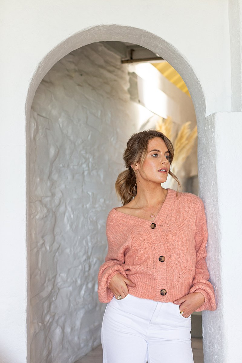 Cornish lifestyle and fashion photography shoot for Jo&Co. Styled lifestyle editorial photography by Marianne Taylor.